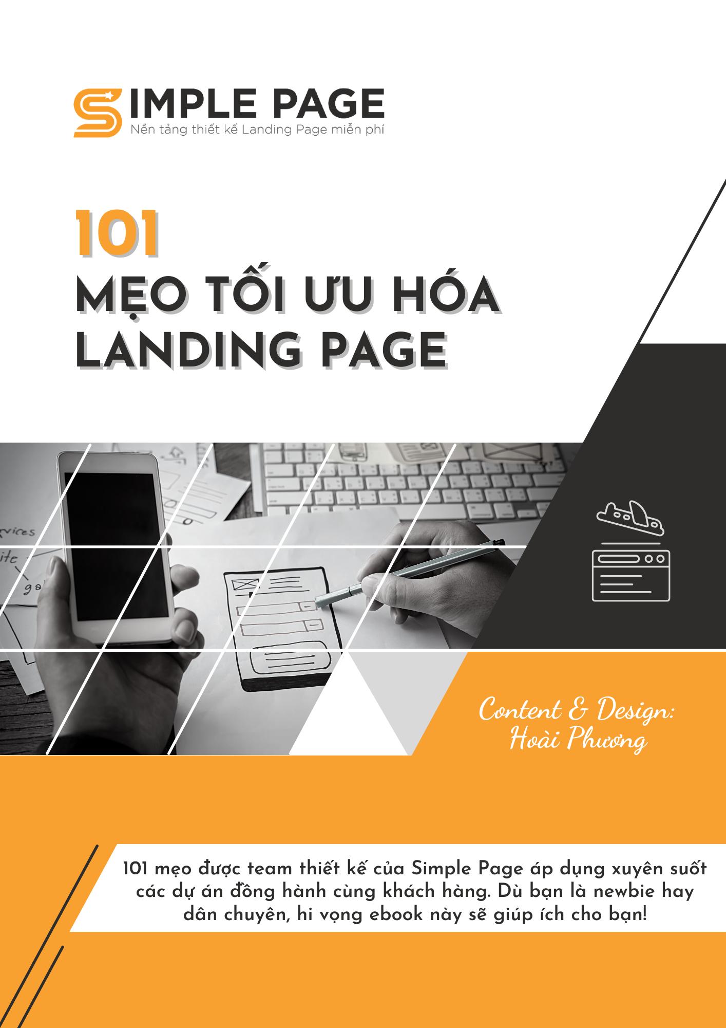101 Mẹo tối ưu hóa Landing Page